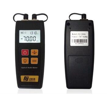 Suministro de mano yj-550 Fibra medidor de potencia óptica fuente de luz láser y 5 MW Fibra óptica Localizador Visual envío libre