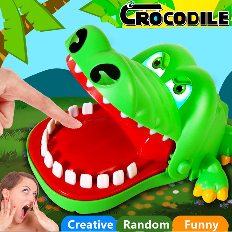 Fun Toys Crocodile Dentist Bit Finger Parent-child Funny Game Creative Animals Teeth Toys For Kids Gift Practical Jokes Gags
