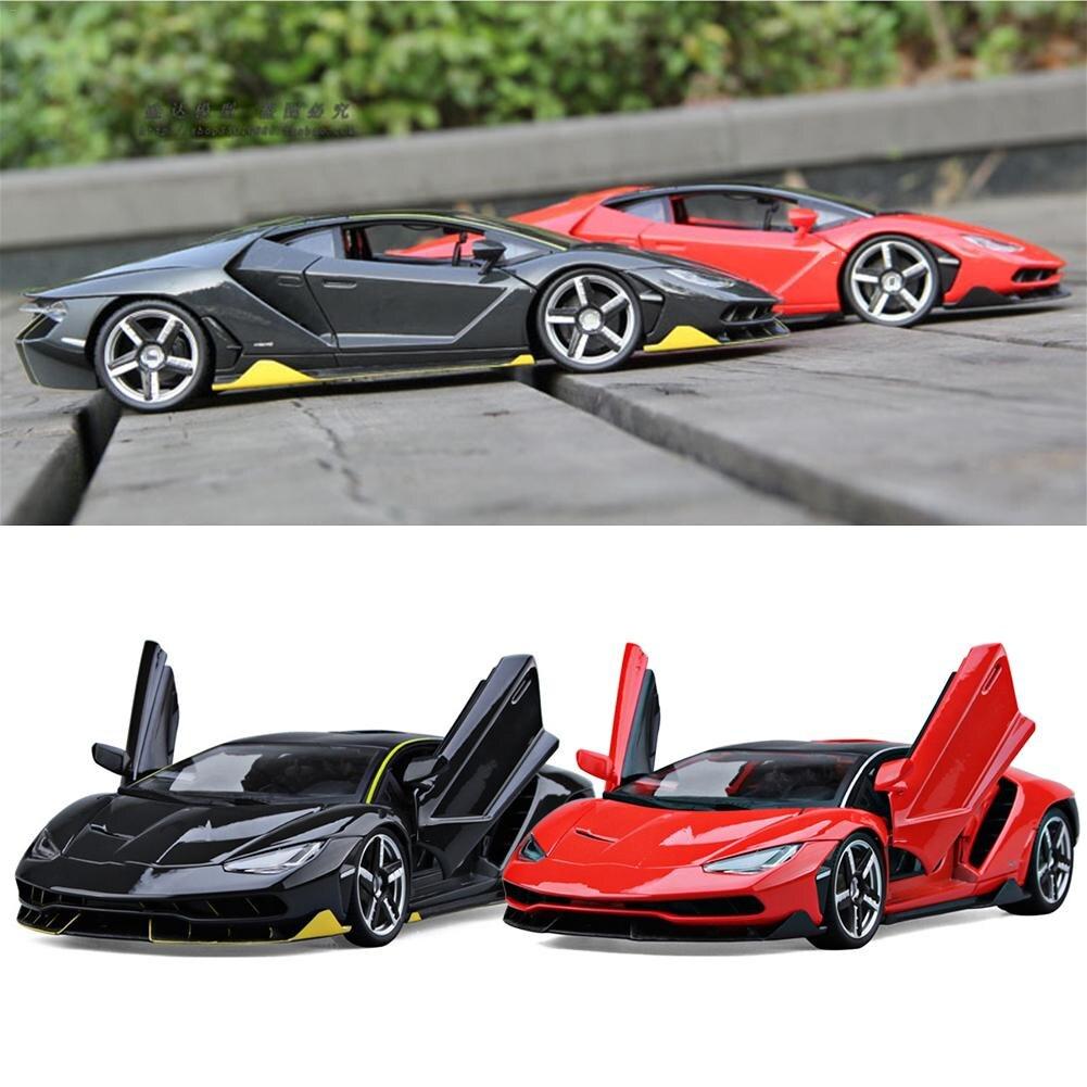 Lamborghini LP770-4 Modèle De Voiture de Sport 1:18 qui Reproduit En Alliage Voiture Jouet Décoration De La Maison