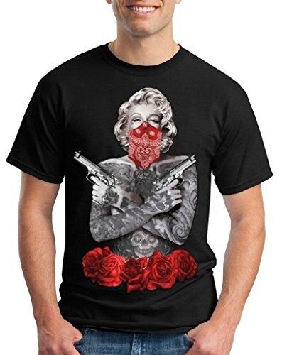 2017 Nuevo Estilo Camisas De Las Camisetas Para Los Hombres Tatuados