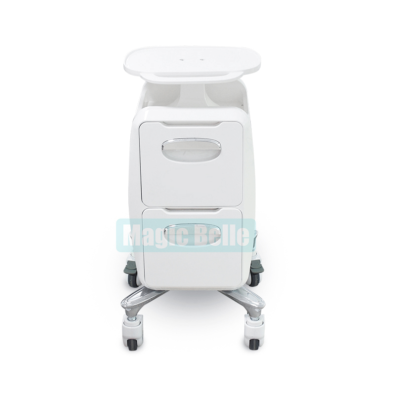 2018 Hot Selling Trolley Tool ABS Aluminum Alloy Makeup Cart Beauty Machine For Salon And Spa