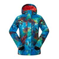 Hot Women Snow jackets outdoor Sports Snowboarding clothing 10K waterproof windproof Breathable ski suit High Quality GSOU SNOW