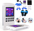 Electroestimulador Muscular Body Relax Muscle Massager Pulse Tens Acupuncture Therapy Slipper+6 Electrode Pads
