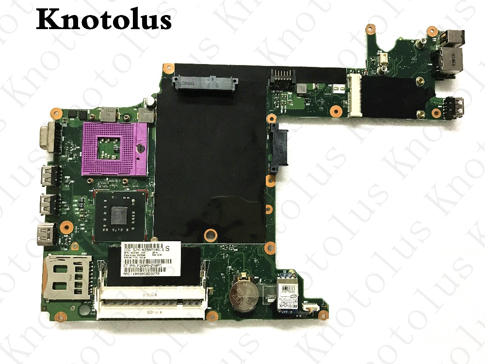 493185-001 for hp 2230s cq20 laptop motherboard ddr2 gm45 Free Shipping 100% test ok