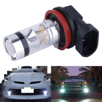 New Super Bright 100W 1000LM XBD H11 LED Fog Light Car Vehicle Head Light Car Side Wedge Tail Light Lamp Bulb image