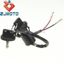 Мотоцикл ZJMOTO ключи зажигания ключ переключатель для HONDA 300 EX TRX300EX TRX 300 EX 1993-2006 95 03 ATV