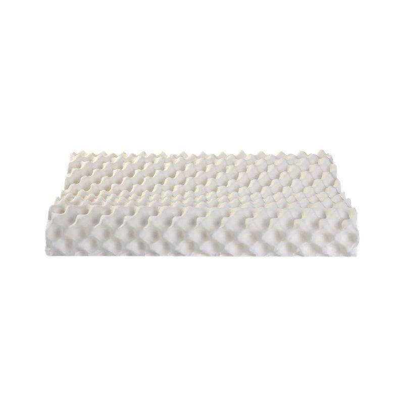 Oreillers de lit de Massage en Latex naturel Dunlop 100% ventilés avec une couverture intérieure Invisible et une couverture en bambou zippée dans un sac en PVC