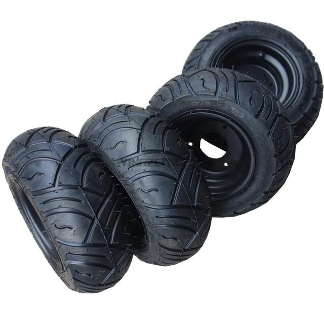 Aliexpress com : Buy GO KART KARTING ATV UTV Buggy 13X5 00 6 Inch Wheel  Tubeless Tyre TiresWith Hubs from Reliable Go Kart Parts & Accessories