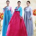 Tradição Vestido de alta Qualidade Manga Comprida Coreano Plus Size Mulheres Coloridas Coreano Coreano Hanbok Traje Antigo Hanfu Das Mulheres 17