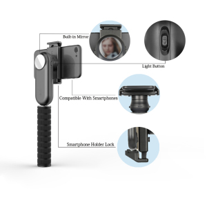 Image 4 - Wewow Fancy Pro Smartphone Mobile Handheld LED Light Gimbal Stabilizer Wholesale