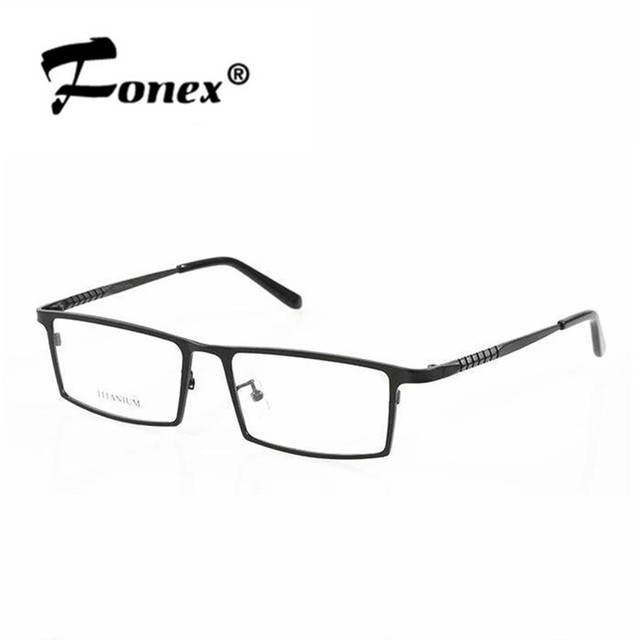 Nueva llegada + manera + envío libre pure titanium b8808 fotograma completo gafas gafas de montura de gafas anteojos