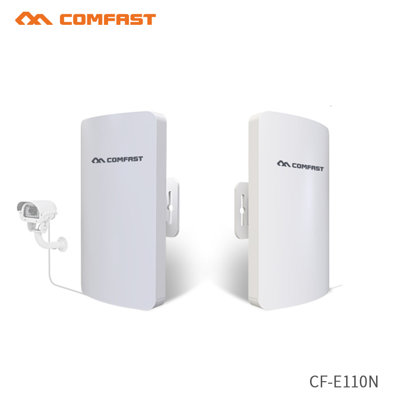 2pcs High Power Outdoor Wifi Repeater 11dBi Antenna 300Mbps Wi fi Signal Booster Amplifier Bridge cpe 2.4G Wireless Wifi Router 2 4ghz 300mbps outdoor cpe router long distance wifi router high power wifi signal booster