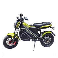 New Fashionable Electric Bike with 48V 500W Brushless Hub Motor 48V 20Ah Lithium ion Luxury Type Electric Motorcycles Ebike