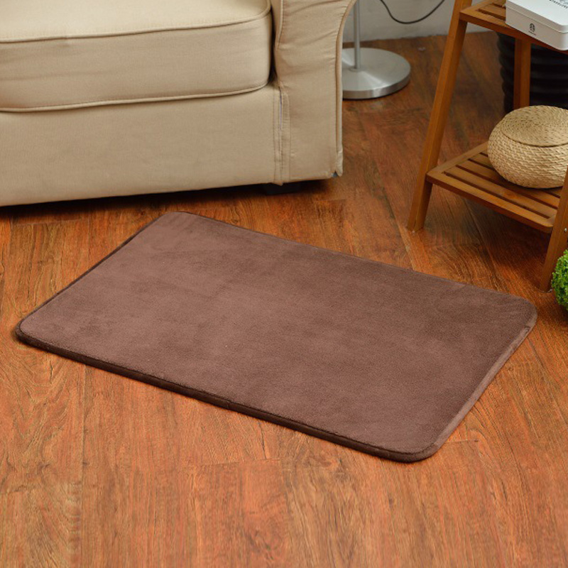 Memory Foam Floor Mats Bath Shower Carpet Bathroom Bedroom Hallway Rug Non-Slip