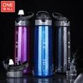BPA Livre Tritan A Minha Garrafa de Água Xícara de Chá Portátil Copo Esporte Garrafas de Água de viagem Com Gancho Copos Garrafas de Água de Plástico Com Palha