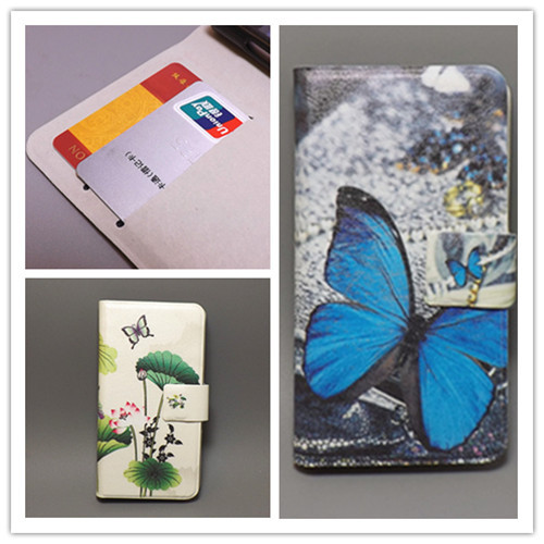 Ultra thin Flower Flag vintage Flip cover Sony Xperia M /Dual/C1905/C1904/C2004/C2005 cell phone Case Freeshipping - leather case111 store