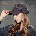 Kenmont марка весна осень женщины вязание бейсболка Snapback шерсти шерстяные шапки спортивный козырек 2345