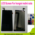 """Hongmi note 1 display lcd + substituição da tela de toque 5.5 """"tela lcd sem moldura ferramenta gratuita para xiaomi hongmi note redmi note 1"""
