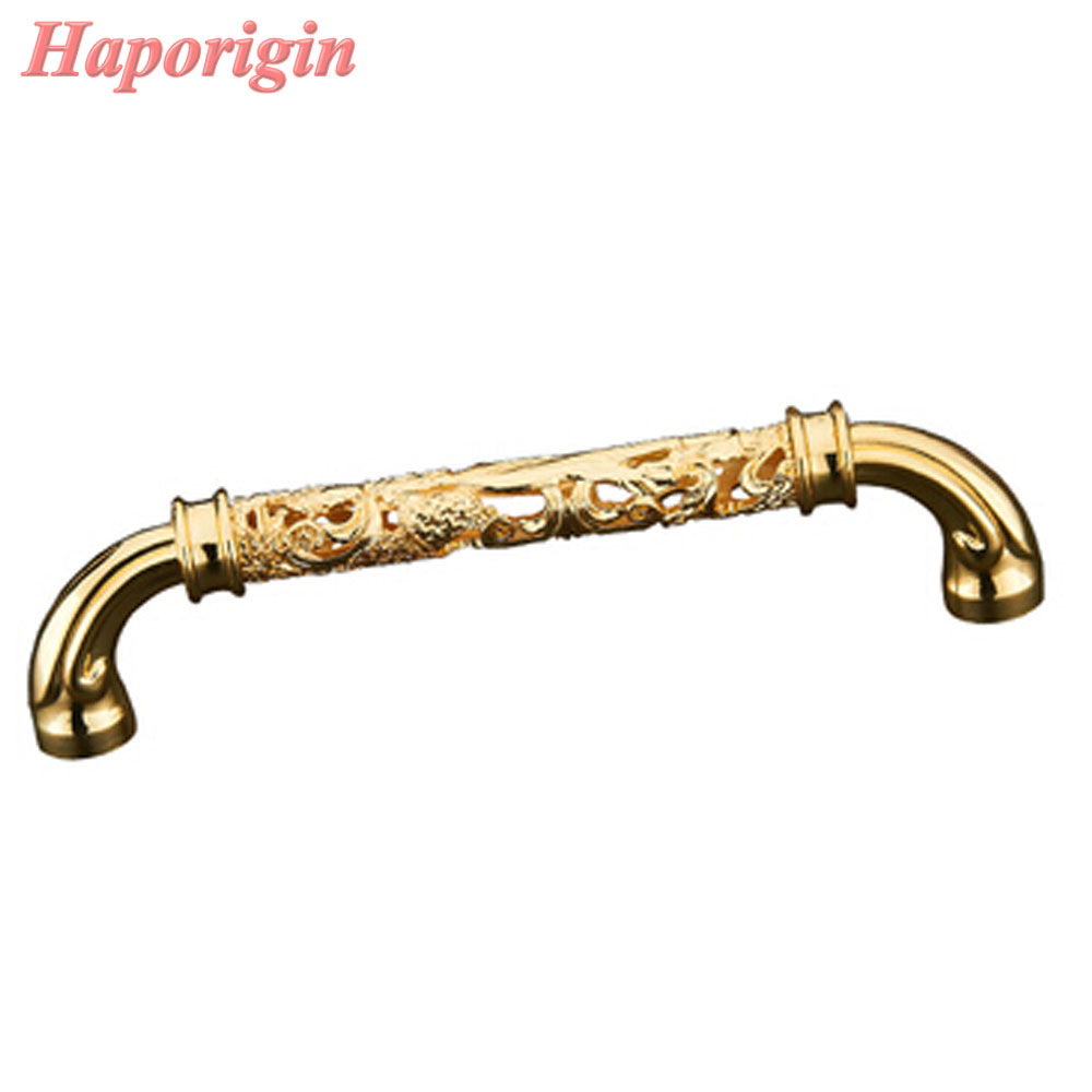 где купить 2x Kitchen Cabinet Drawer Handles Furniture Door Knobs Court Carved Gold Wardrobe Handle Cupboard Closet Dresser Pulls Shoes Box по лучшей цене