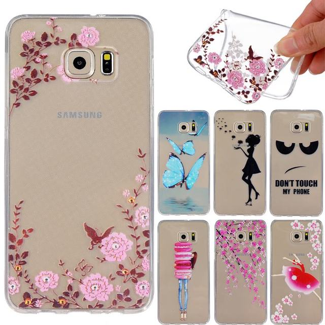 For Samsung Galaxy S6 Edge Plus Case for coque Samsung Galaxy S6Edge Plus G928i SM-G928 SM-G928f SM-G928i Cases Silicone Cover