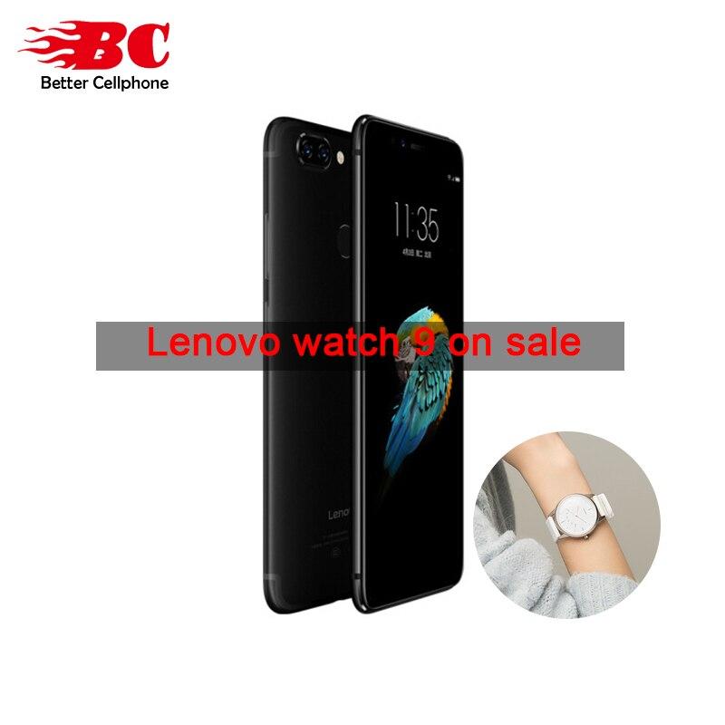 2018 Lenovo S5 k520 FaceID Snapdragon 625 (MSM8953) octa-core 2,0 GHz Rear13MP + 13MP ROM 32 GB Fingerprint móvil suppot Watch9