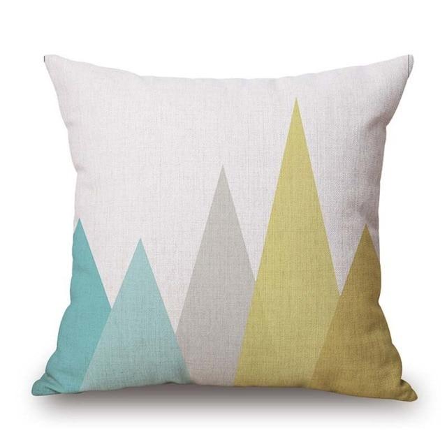 Nordic Geometric Decorative Pillowcase Size: 45CM WT0042 Color: 5