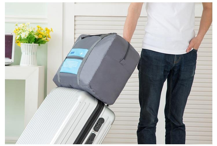 Foldable Travel Tote Bag