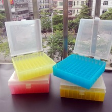 laboratory Plastic text tube box for 2ml,1.5ml 1.8ml cryopreservation tubes with connection cover,tube rack ,blue,red,yellow centrifuge tubes test tube rack polypropylene blue green pink yellow orange pack of 5 pcs