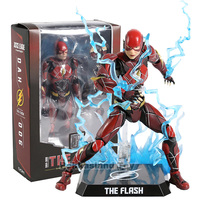DC Justice League Dynamie Heroes DAH 006 The Flash Action Figure Toy Doll Christmas Gift