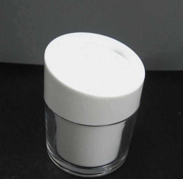 50gg acrylic cosmetics packing bottle with tilted cover, Empty plastic jar ,suit bottle,Cream box / bottle 5g clear round heart shaped acrylic cosmetics packing bottle cream box bottle