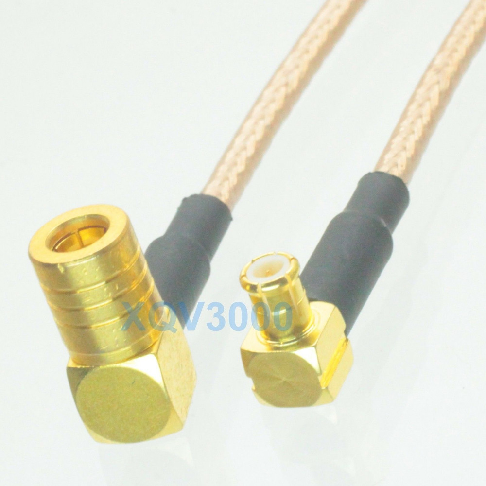 RG316 MCX MALE ANGLE to MCX FEMALE ANGLE Coaxial RF Cable USA-US