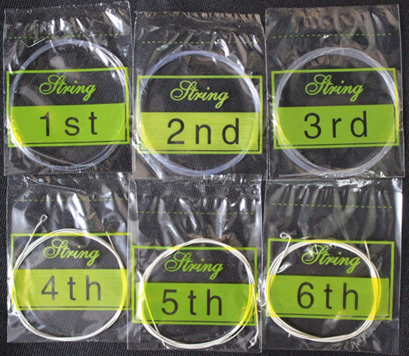 Nylon Classical Guitar Strings Nylon Silver Plating Set Super Light For Classic Acoustic Guitar Parts Accessories 28-45 GGN10