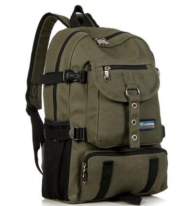 zíper sólida bolsa de lona Bags Shoulder Strap Pattern : Double Root