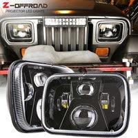 5x7 DOT 7x6 inch LED Headlights Headlamps Bulbs Set Kit for Chevrolet Express 3500, Chevrolet Express 1500, Chevrolet Astro