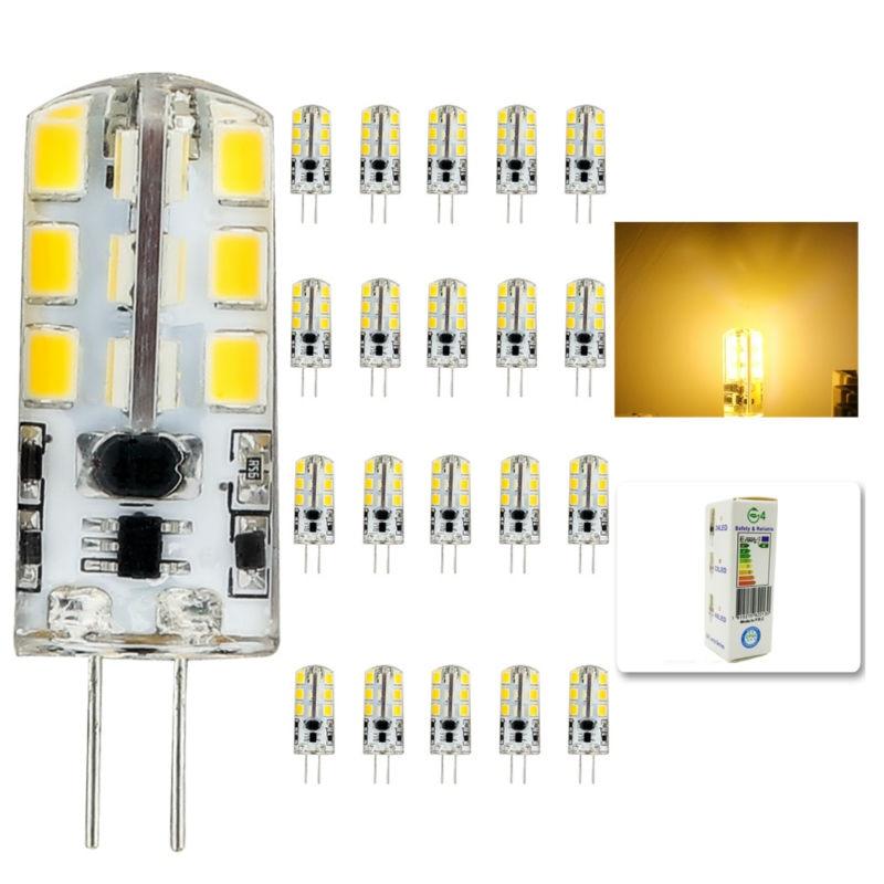 20pcs/lot 2015 new AC DC 12V g4  Led bulb Lamp SMD 2835 6W Replace 40w halogen lamp light 360 Beam Angle luz lampada led