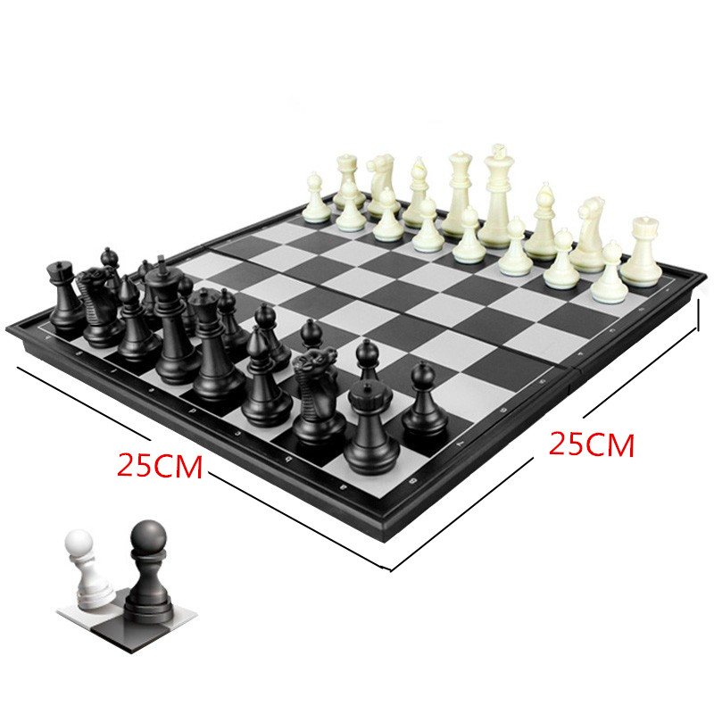Smare Mini Folding Magnetic Chess Checkers Set Portable King 50mm Pawn Table Games Funny Educational Toy for Children for sony mbx 246 v090 rev 1 1 laptop motherboard mainboard 1p 0113j03 6011 100