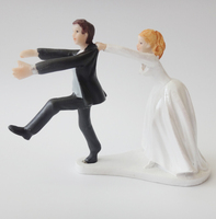 Polyresin Couple Figurines Wedding Cake Toppers For Love Precious Moments