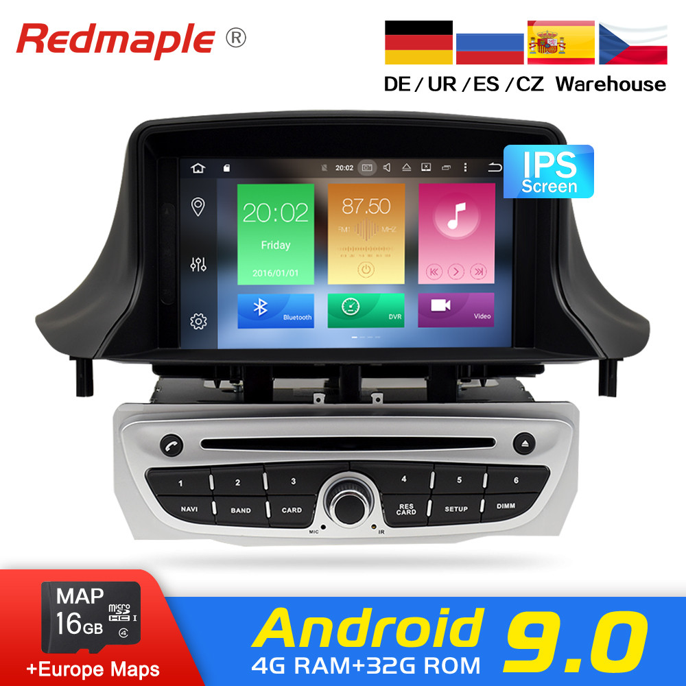 IPS Screen Android 9 0 Car Radio DVD font b Player b font Multimedia Stereo For