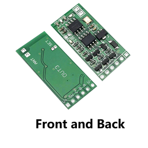 Image 3 - ワイヤレスリモートコントロールスイッチ 433 433mhz の rf 送信受信機 3.5 v 3.7 v 6 V 9 v 12 v 回路マイクロコントローラミニ小型モジュール
