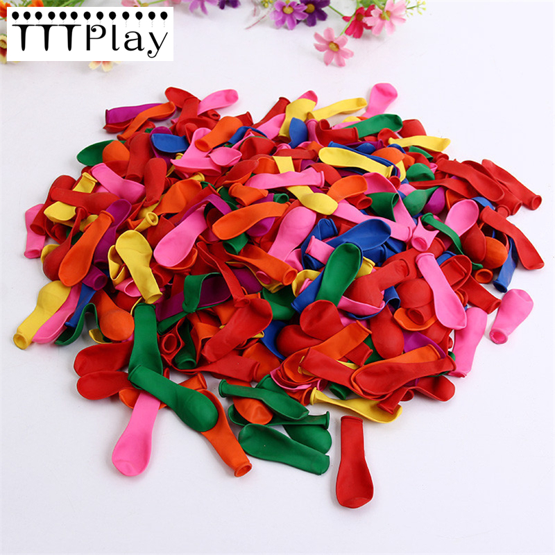 <font><b>500pcs</b></font>/lot Children's Birthday Party Decoration Balloon Water Bombs Colorful Water Balloon Inflatable Classic Toys Small Balloon image