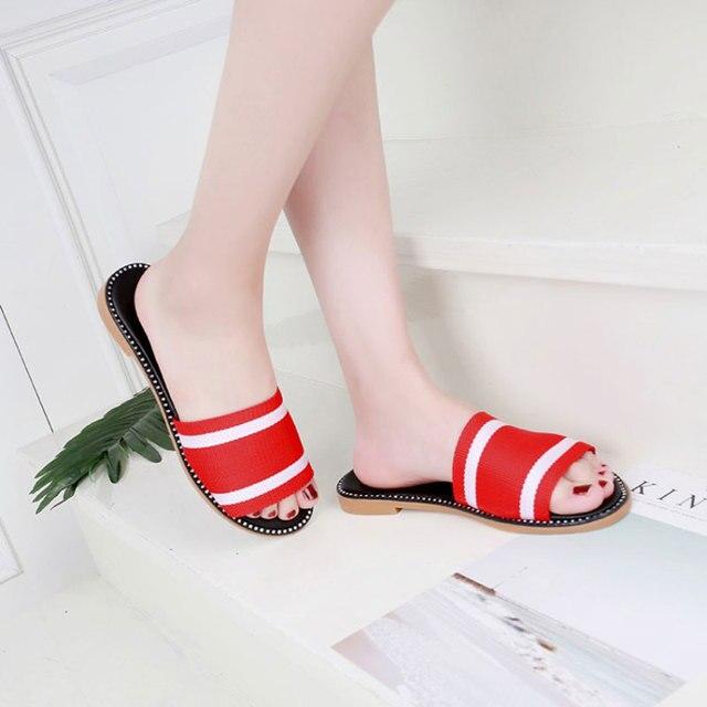 Colores Casuales Despeje De Mujer Mezclados Zapatillas Chanclas OuPkXTZi