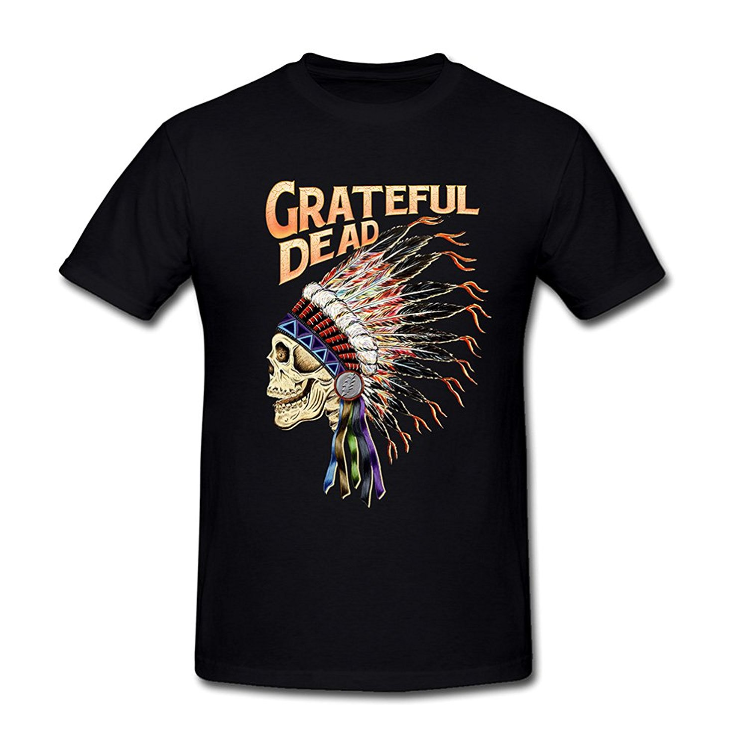 New 2017 Summer Fashion Printing Machine Crew Neck funny Mens Grateful Dead Spring 1990:So Glad T-Shirt Sizes S-3XL