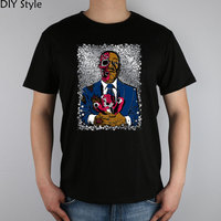 Gus Breaking Bad Poster t-shirt Top Lycra Cotton Men T Shirt New Diy Style