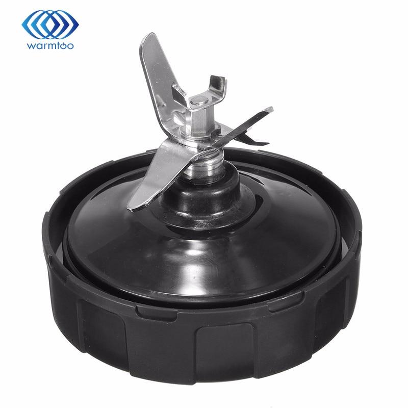 Prata de Aço inoxidável Peças de Substituição Da Lâmina Para NUTRI Liquidificador NINJA BL450 Auto-iQ BL481 BL482