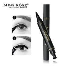 Black Liquid Stamp Eyeliner Make Up Waterproof Comestics Long-lasting Eye Liner Pencil Makeup Tools for Eyeshadow недорого
