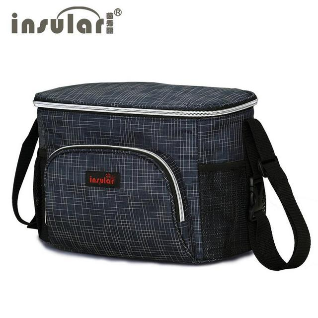 New Style insular  Thermal Insulation Baby Diaper Bags Waterproof Mommy Bag Stroller Bag Cooler Bag Free Shipping