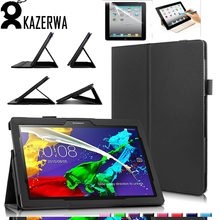 Flip PU Leather Stand Cover Tablet Case for Lenovo Tab 2 A10 A10-30 A10-30F X30L X30F 10.1 Tablet Case  cover for Lenova fundas