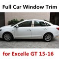 Хит продаж  специальная автомобильная лента для модификации Excelle GT 2015 2016 Яркая серебристая отделка из нержавеющей стали