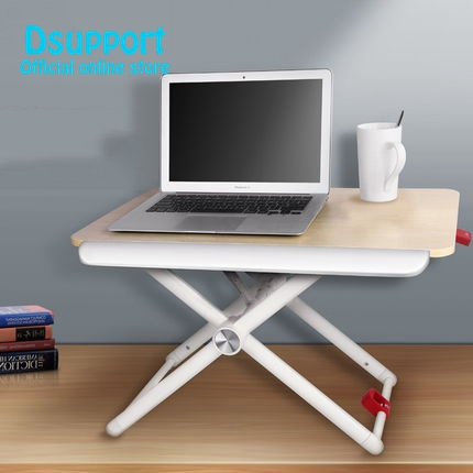 2018 New arival TR3 Notebook Laptop Desk Riser Ergonomic EasyUp Height Adjustable Sit Stand Computer Desk Lapdesk Monitor Hold