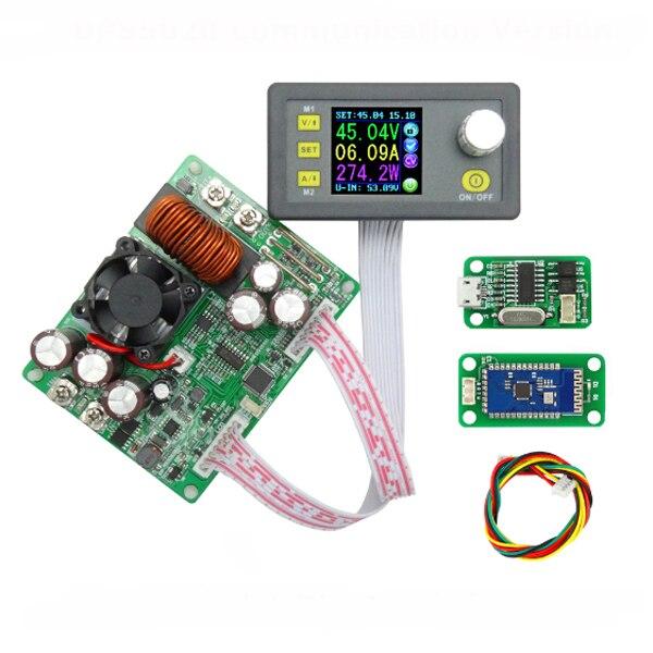 DPS5020 voltaje corriente constante de paso por la comunicación Digital convertidor de fuente de alimentación módulo LCD